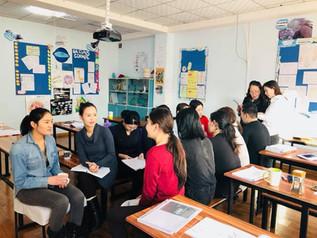 Teachers Studying English