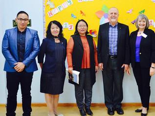 Delegates of Missouri State University paid visit
