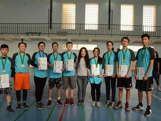 School volleyball tournament
