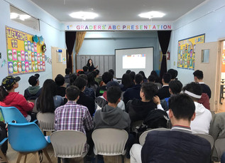 Career consultant Oyu.O gave a lecture for our high school students