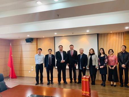 """""""Fujian Normal University"""" их сургуульд зочиллоо."""