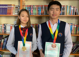 Mandakh Ts. and Ganbold S. won bronze and gold medals from Chemistry Olympiad