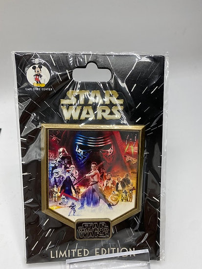 Star Wars The Force Awakens LE 300 DEC Pin Episode VII 7