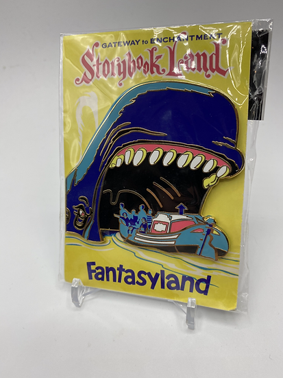 Storybookland Canal Boats Attraction Poster Card LE 300 Pin Fantasy WDI