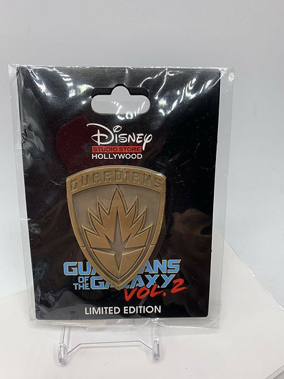 Marvel Guardians of the Galaxy 2 Shield Crest LE 300 Pin DSF DSSH