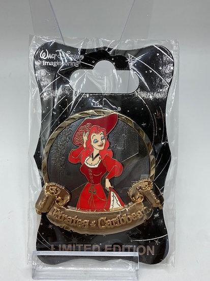 The Redhead Pirates of the Caribbean 50th Anniversary LE 300 WDI Pin
