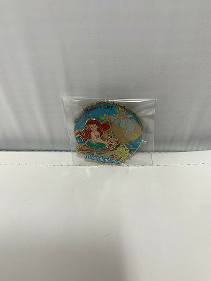 Ariel & Triton Happy Father's Day DLR WDW LE 1000 Pin Little Mermaid