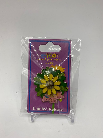 Epcot Flower and Garden Festival 2011 Emblem Limited Release Pin LR WDW