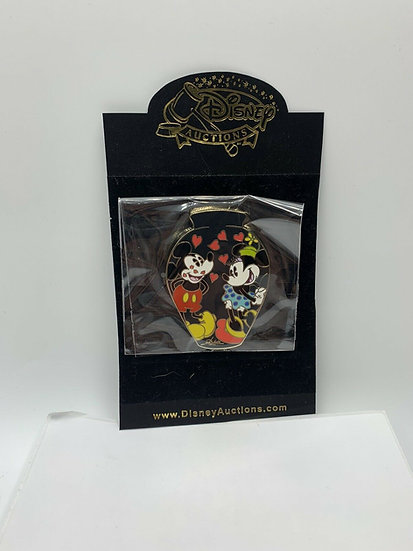 Mickey & Minnie Mouse Vase Auctions Elisabete Gomes LE 100 Pin Signed