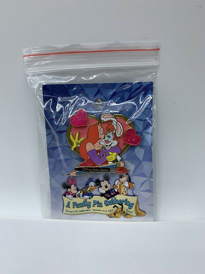 Jessica & Roger Rabbit WDW A Family Pin Gathering LE 1000 Artist Choice