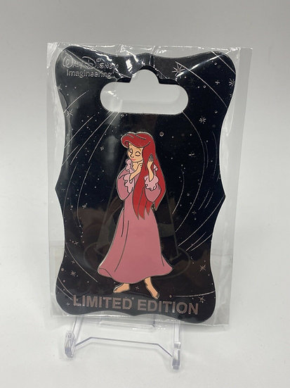 Ariel Pink Nightgown Dress WDI LE 250 Pin Little Mermaid 30th Anniversary