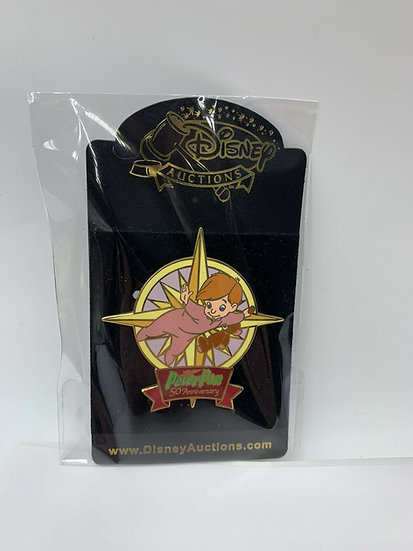 Michael Darling Peter Pan 50th Anniversary Auctions LE 100 Pin Flying