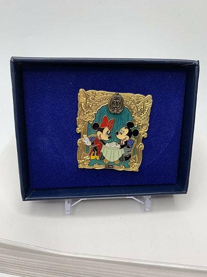 Mickey and Minnie Club 33 DLR 50th Anniversary LE 500 Box Pin January