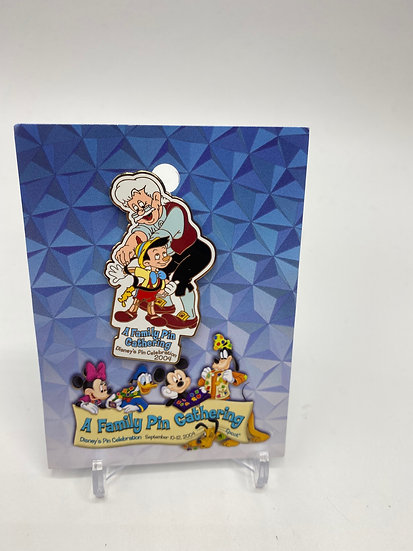 Pinocchio & Geppetto WDW A Family Pin Gathering LE 1000 Pin