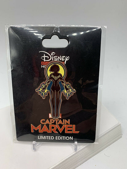Marvel Captain Marvel Stained Glass LE 200 Surprise Pin DSF DSSH
