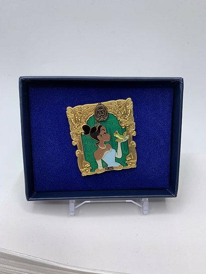Tiana Club 33 DLR 50th Anniversary LE 500 Box Pin February Princess Frog