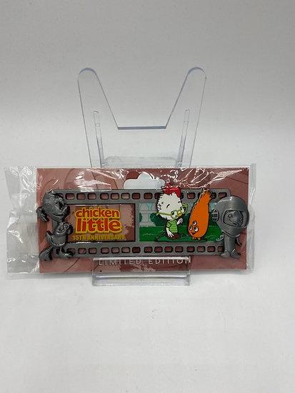 Chicken Little WDI 15th Anniversary Film Strip LE 250 Pin