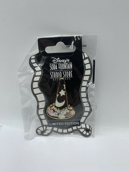 Mickeys Masterpiece Sorcerer Hat Pin Trader's Delight PTD LE 500 DSF DSSH