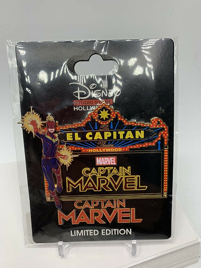 Captain Marvel  Marvel El Capitan Theatre LE 400 Marquee Pin DSF DSSH