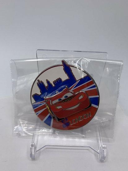 Pixar Lightning McQueen London LE 300 Pin DSF DSSH Cars 2