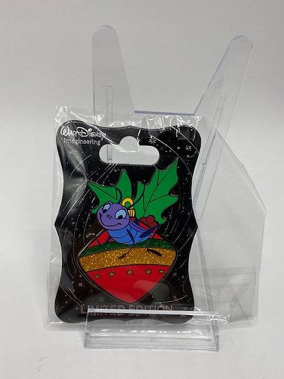 Cri-Kee WDI Christmas Holiday Ornament LE 250 Pin Mulan Cricket