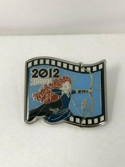 Brave Merida Pixar Feature Animation LE 1000 Frame Pin 2012 Japan