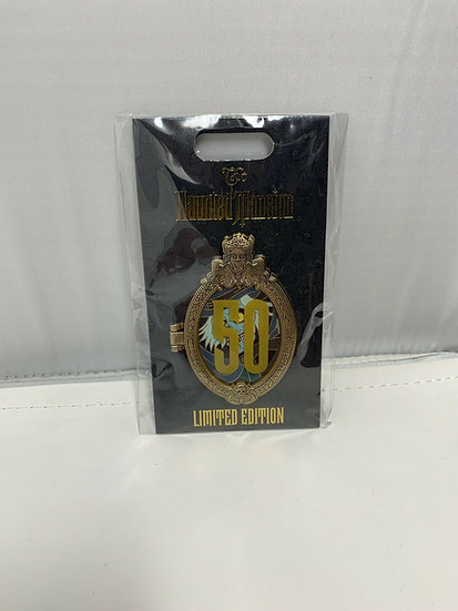 Hatbox Ghost WDI D23 The Haunted Mansion 50th Anniversary LE 300 Pin