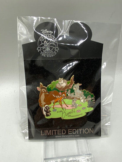Bambi 65th Anniversary LE 500 Shopping Store Pin Thumper Flower