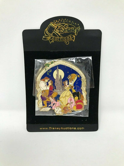 Beauty and the Beast Storybook Jumbo Auctions LE 100 Pin Belle Cast