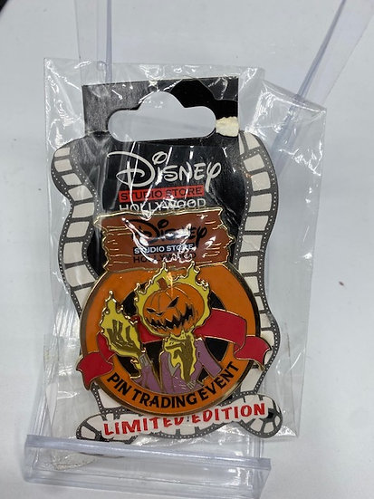 Nightmare Before Christmas Trading Event Pumpkin King LE 300 Pin DSF DSSH
