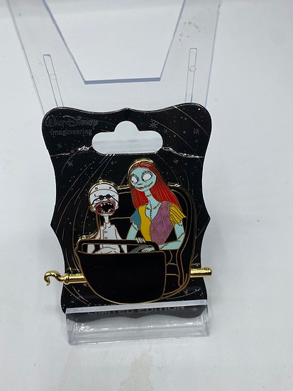 Sally & Dr Finkelstein NBC Doom Buggy LE 250 WDI Pin Haunted Mansion