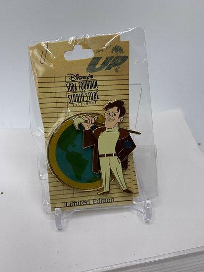 Pixar Up Charles Muntz LE 150 Pin DSF DSSH World Globe