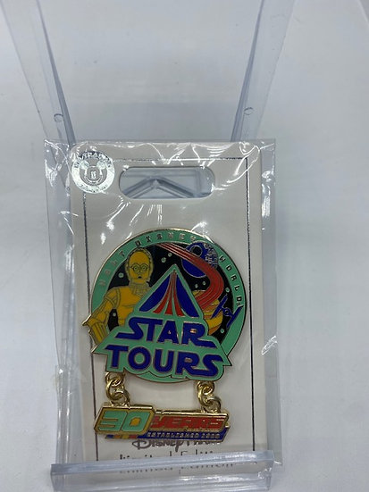 Star Tours 30th Anniversary LE 600 Pin DLR Cast Exclusive