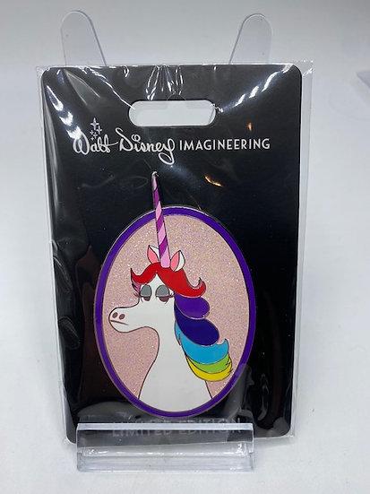 Rainbow Unicorn Profile LE 250 WDI Pin Pixar Inside Out