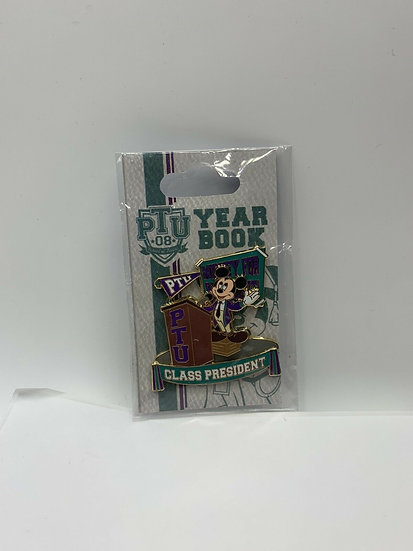Mickey Mouse WDW Pin Trading University Class President LE 1000 Pin