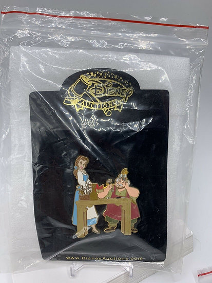 Belle and Maurice Father's Day Auctions LE 100 Pin Beauty & the Beast
