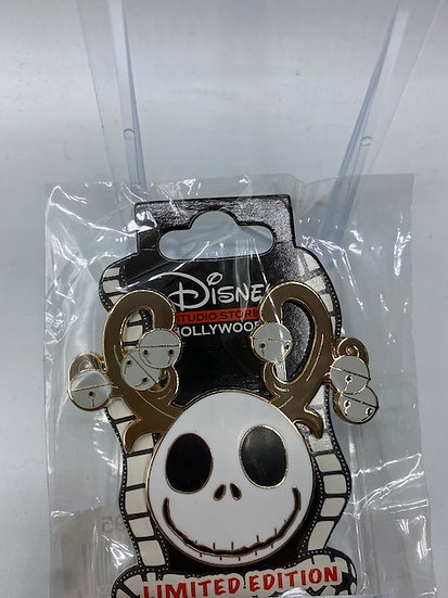 Jack Skellington Holiday 2020 Christmas Antlers LE 400 Pin NBC DSF DSSH