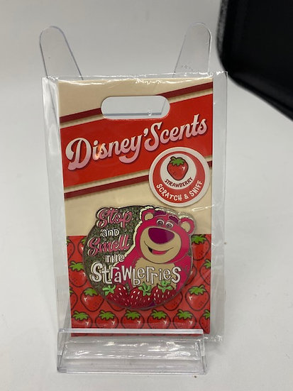 Lotso Bear DLR WDW Scents LE 2000 Pin of the Month Toy Story