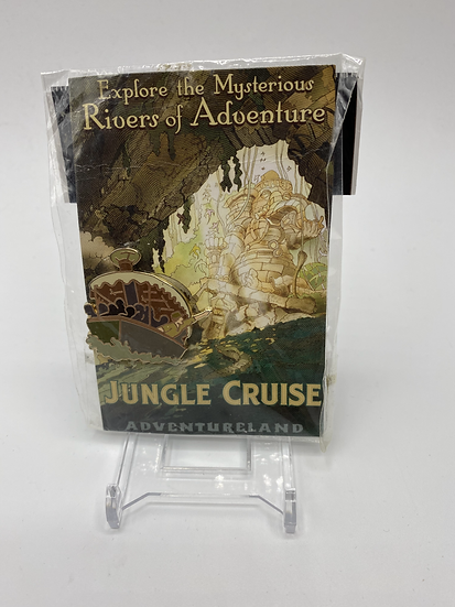 Jungle Cruise Attraction Poster Card LE 300 Pin Adventureland WDI