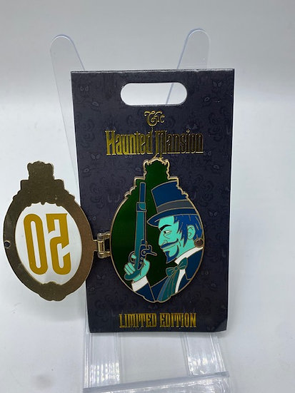 Left Dueling Portrait Haunted Mansion 50th Anniversary LE 300 WDI Pin D23