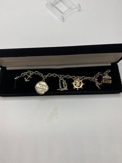 Pirates of the Caribbean Dead Man's Chest Charm Bracelet