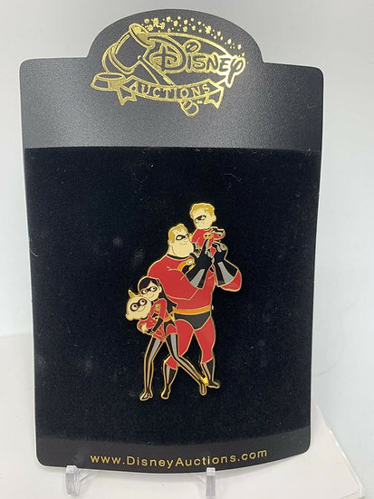 The Incredibles Auctions Father's Day 2006 LE 100 Pin Jack Dash Violet Mr
