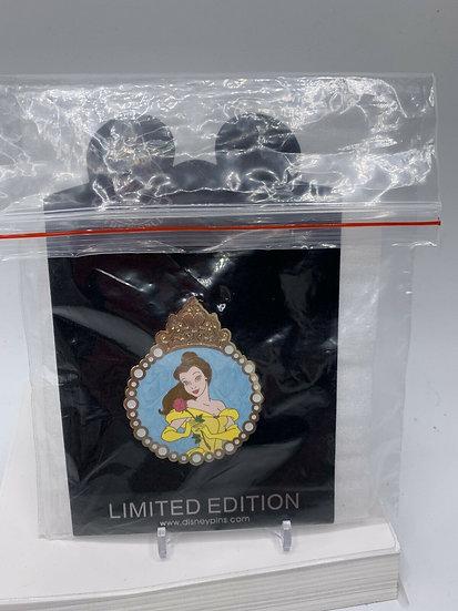 Belle Princess Pearl Medallion Shopping Store LE 125 Pin Beauty & Beast