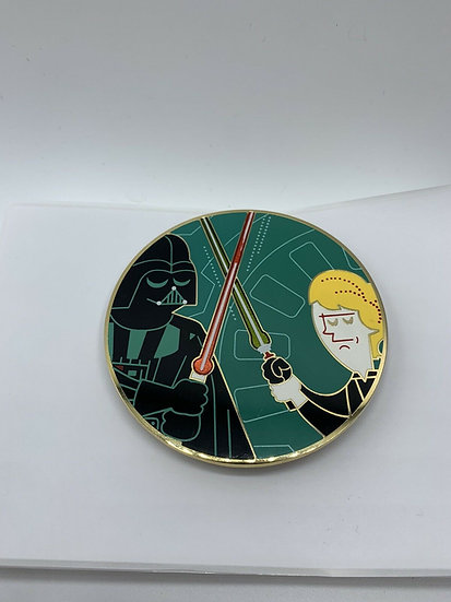 Darth Vader and Luke Skywalker Acme Hot Art LE 250 Pin Star Wars
