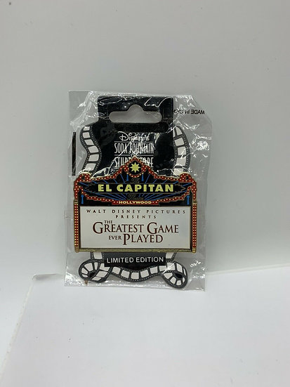 Greatest Game Ever Played The El Capitan LE 300 Marquee Pin DSF DSSH