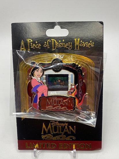 Mulan Piece of Disney Movie PODM LE 2000 Pin Mushu DLR WDW