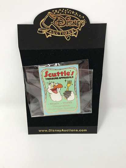 Scuttle's Treasure Appraisals Auctions Business Ad LE 100 Pin Mermaid