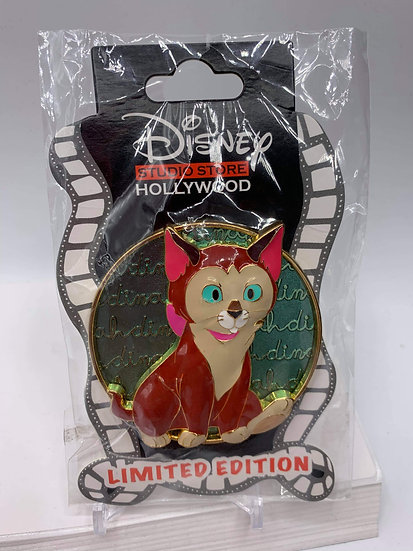 Dinah Cat Cursive Cuties LE 300 Pin DSF DSSH Alice in Wonderland