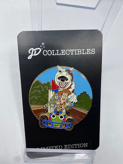 Toy Story 1 Beloved Tales BT LE 300 Pin DSF DSSH Pixar Woody Buzz & RC