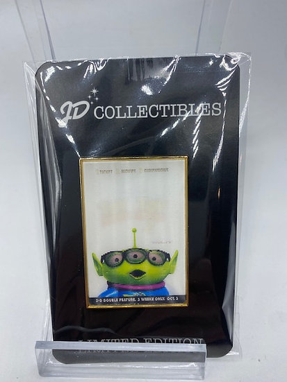 Toy Story 1 & 2 LGM Lenticular Movie Poster LE 300 Pin DSF DSSH